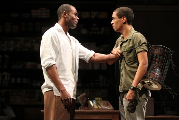 Clifton Duncan and Kyle Beltran  at First Look at Yale Rep's GOOD GOODS with Kyle Beltran, de'Adre Aziza and More!