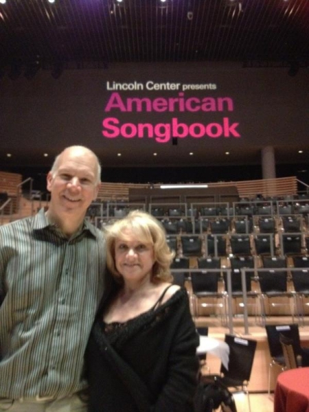 Twitter Watch: Elaine Paige - 'Myself and David starting rehearsals for Lincoln Center'
