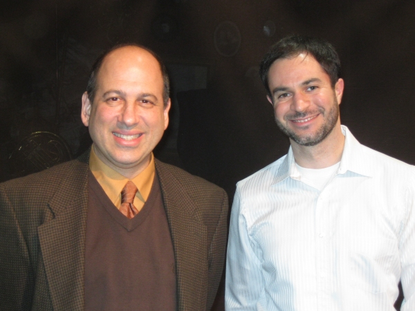 Michael Kostroff and Scott Kaplan at Michael Kostroff Talks CLUTTER at Greenhouse Theater Center