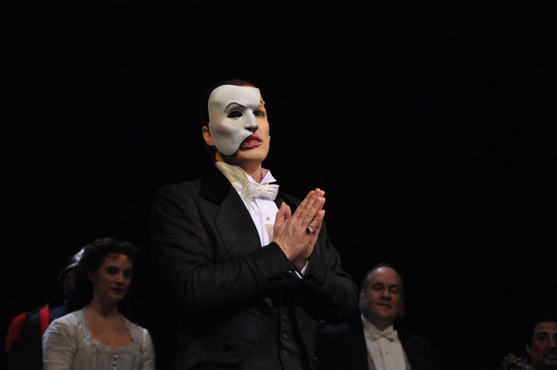 Hugh Panaro at THE PHANTOM OF THE OPERA Celebrates 10,000 Performances!