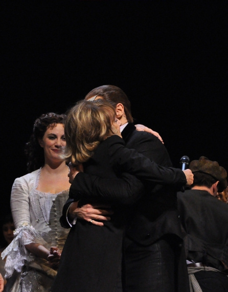 Trista Moldovan, Gillian Lynne and Hugh Panaro