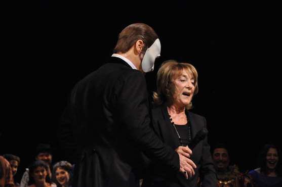Hugh Panaro and Gillian Lynne