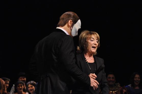 Hugh Panaro and Gillian Lynne