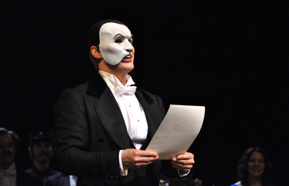 Hugh Panaro at THE PHANTOM OF THE OPERA Celebrates 10,000 Performances!