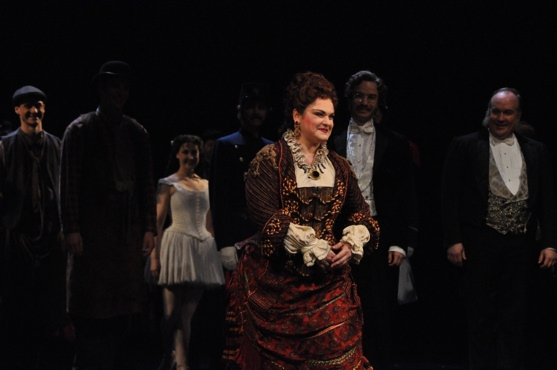 Michele McConnell at THE PHANTOM OF THE OPERA Celebrates 10,000 Performances!