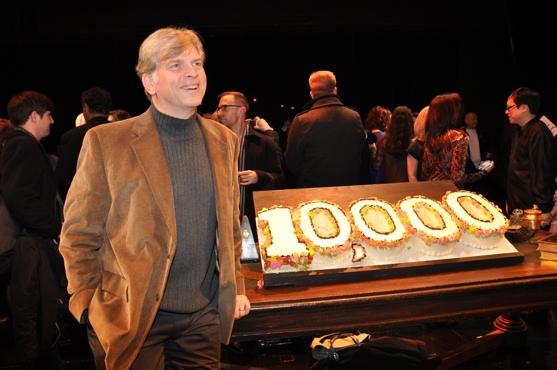 James Romick at THE PHANTOM OF THE OPERA Celebrates 10,000 Performances!