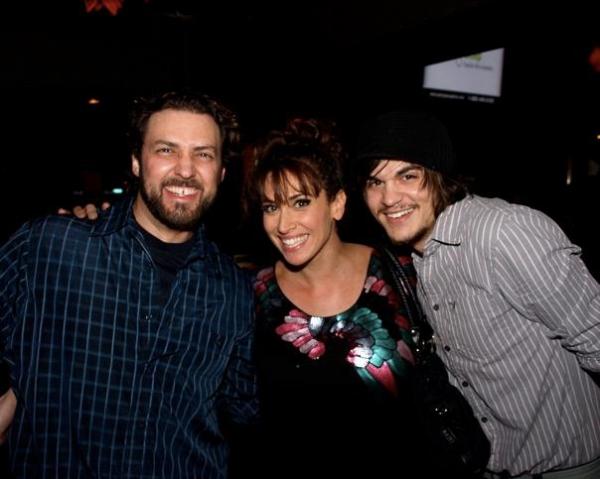 Jason Webb, Lesli Margherita, and AJ Mendoza Photo