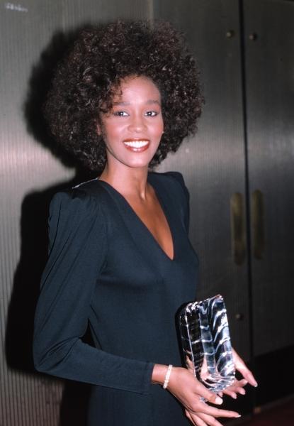 Whitney Houston in New York City , June 1987.