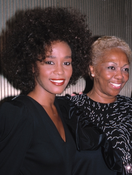 Whitney Houston & mom Cissy Houston in New York City, June 1987