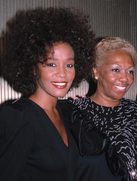 Whitney Houston & mom Cissy Houston in New York City, June 1987