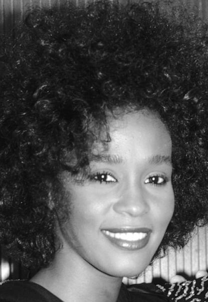 Whitney Houston n New York City, June 1987