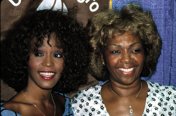 Whitney Houston with her mother Cissy Houston reveives the United Negro College Fund Award in New York City. July 1988. at Remembering Whitney Houston