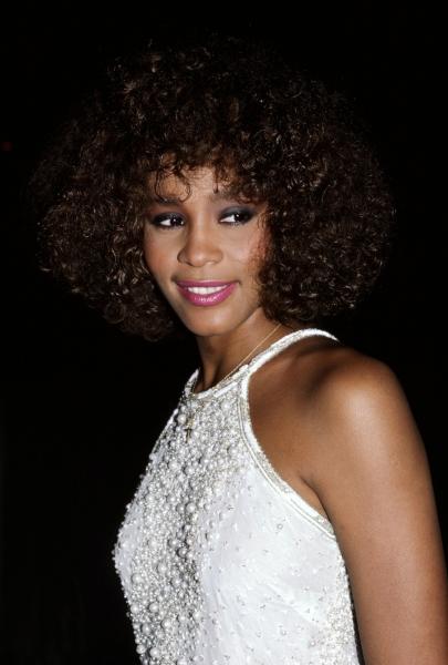Whitney Houston in New York City 1988