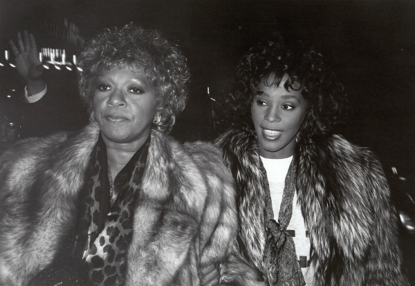 Whitney Houston with her mom Cissy Houston leaving the Parker Neridan Hotel in New York City. 1989 at Remembering Whitney Houston