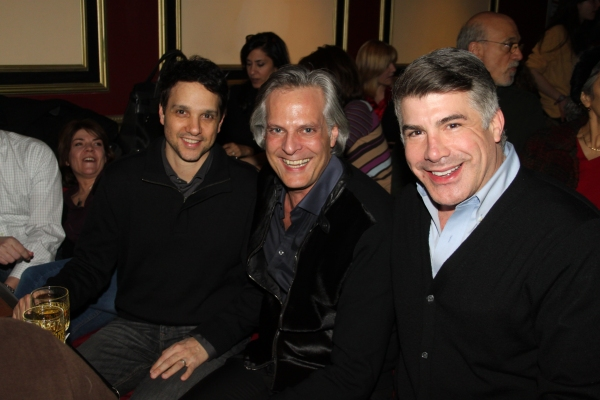 Ralph Macchio, Tom Cianfichi and Bryan Batt