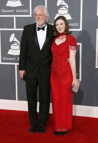 Robert Aldridge and Micaela Aldridge at 2012 Grammy Awards- Red Carpet Coverage!