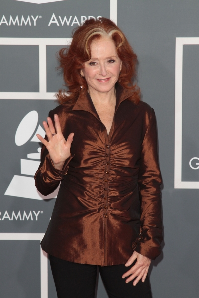 Bonnie Raitt pictured at the 54th Annual GRAMMY Awards held at  The Staples Center in Los Angeles, California on February 12, 2012. © RD / Orchon / Retna Digital at 2012 Grammy Awards- Red Carpet Coverage!