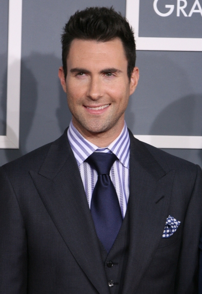 Adam Levine at 2012 Grammy Awards- Red Carpet Coverage!