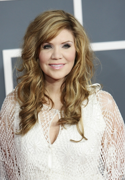 Alison Krauss  at Red Carpet Fashions from the 2012 Grammys!