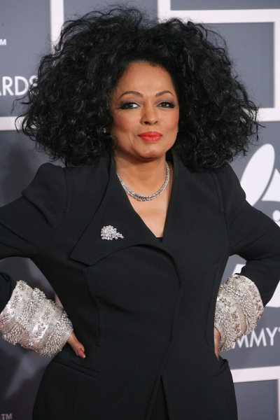 Diana Ross at Red Carpet Fashions from the 2012 Grammys!