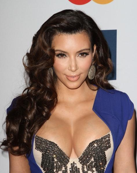 Kim Kardashian at Inside Clive Davis' 2012 Pre-Grammy Gala!