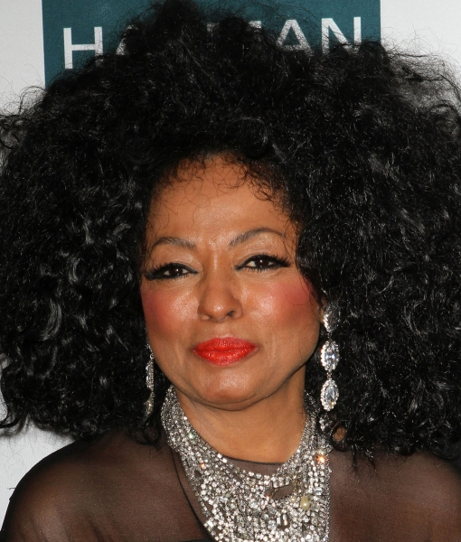Diana Ross at Inside Clive Davis' 2012 Pre-Grammy Gala!