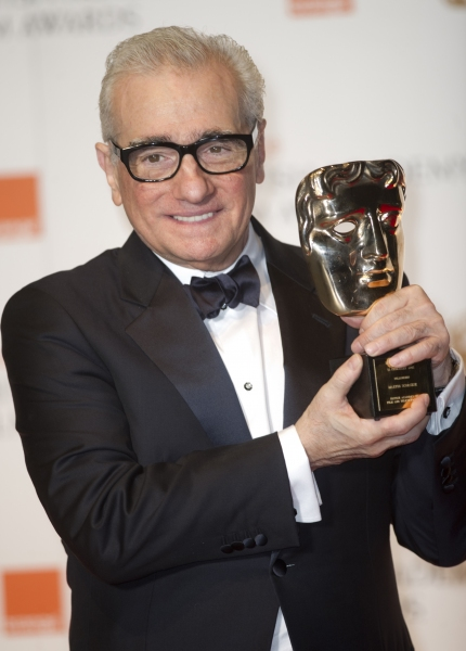 Martin Scorsese at Inside the 2012 BAFTA Film Awards
