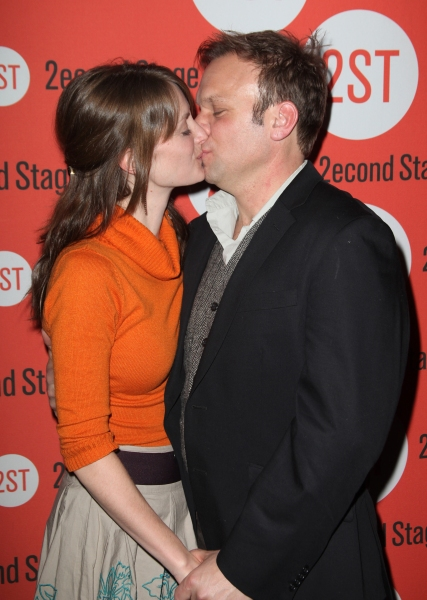 Norbert Leo Butz & wife Michelle Federer  at HOW I LEARNED TO DRIVE Celebrates Opening Night at Second Stage!