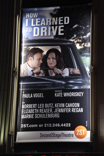 Elizabeth Reaser & Norbert Leo Butz  at HOW I LEARNED TO DRIVE Starry Theatre Arrivals!