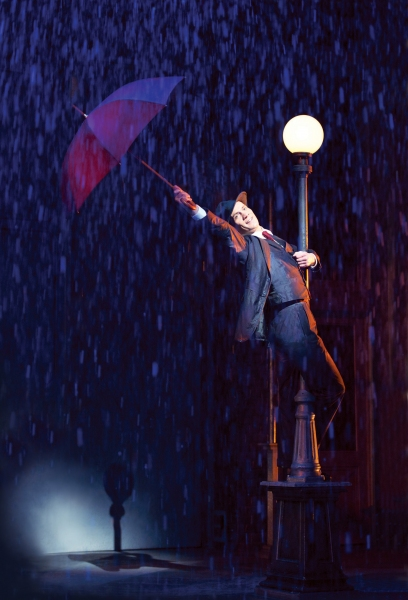 Adam Cooper at First Look at West End's SINGIN' IN THE RAIN!