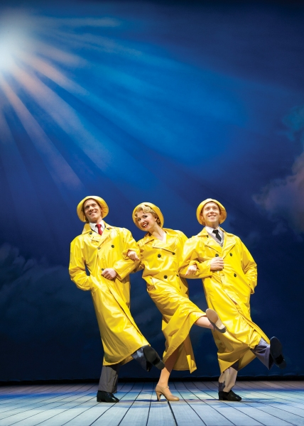 Photo Flash: First Look at West End's SINGIN' IN THE RAIN!