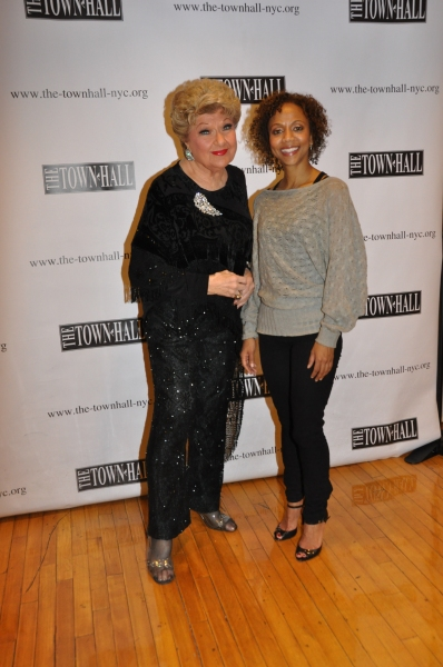 Marilyn Maye and Dameka Hayes Photo