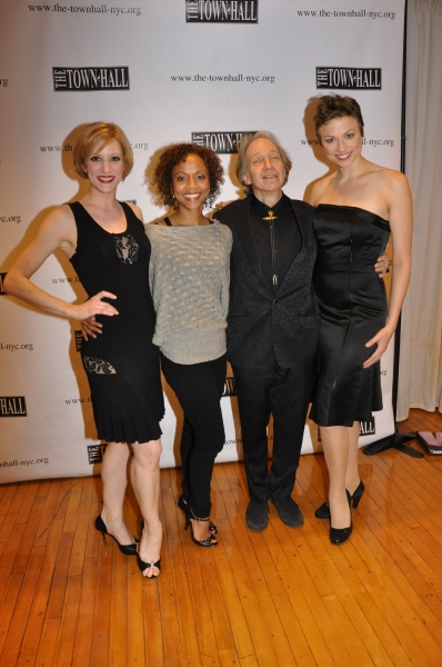 Vanessa Sonon, Dameka Hayes, Scott Siegel (Host, Writer and Creator of tonight's show) and Sara Brians