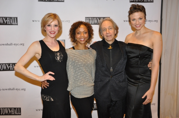 Vanessa Sonon, Dameka Hayes, Scott Siegel and Sara Brians