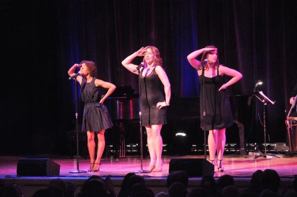 Dameka Hayes, Alice Ripley and Jessie Mueller Photo