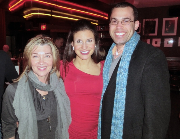 Donna Bullock, Jenny Powers and Ben West Photo