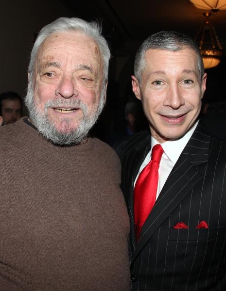 Stephen Sondheim & Gary Stevens