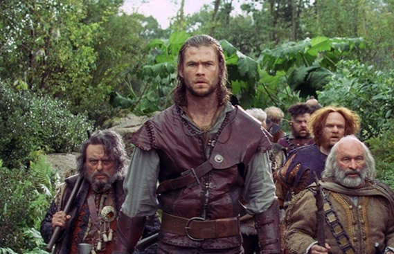Chris Hemsworth at First Look - SNOW WHITE AND THE HUNTSMAN, Opening 6/1