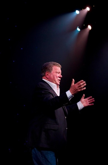 Photo Flash First Look At Shatner S World We Just Live