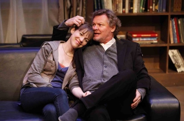 Natalie Kuhn and Geraint Wyn Davies