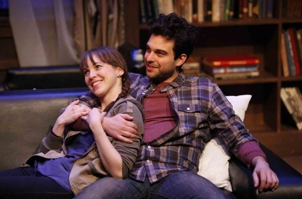 Natalie Kuhn and Ari Butler