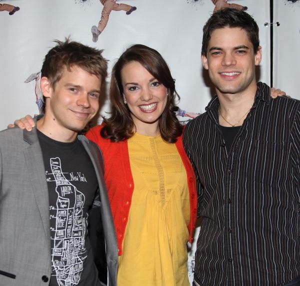 Andrew Keenan-Bolger, Kara Lindsay & Jeremy Jordan