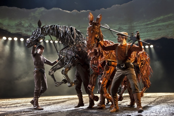 Topthorn (Brendan J. Rowland, Adam Cunningham, Sean C. Robertson) and Joey (Brad Cook, Bryan Hindle, Caden Douglas) Canadian cast 2012
