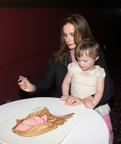 Rachel Griffiths & daughter Adalaila Griffiths