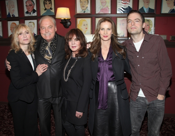 Judith Light, Stacy Keach, Stockard Channing, Rachel Griffiths & Justin Kirk  at Sardi's Honors OTHER DESERT CITIES' Stacey Keach, Stockard Channing & Rachel Griffiths with Wall Caricatures!