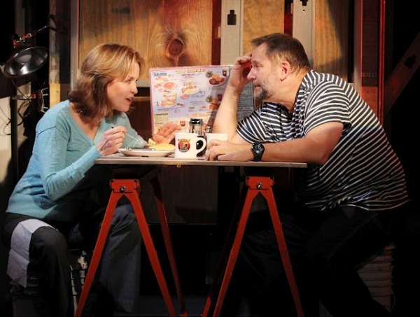 Jennifer Dorr White and Brian Dykstra  at First Look at Working Theatre's CALL ME WALDO