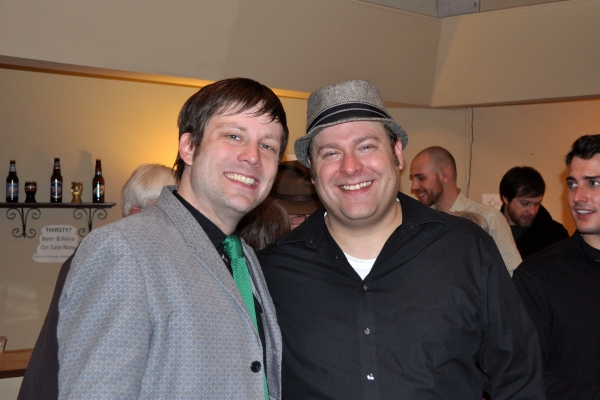 Shawn Quinlan (Chris) and Dennis Schnell (Gaetano Proclo) Photo
