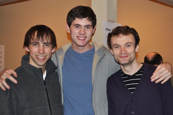 Sean Driscoll, Richard O'Dette and Kevin Webb