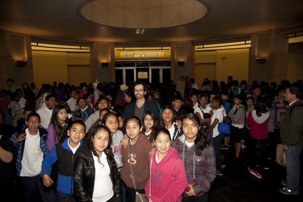 Photo Flash: Red Line Tours Takes Middle School Students Behind the Scenes of Hollywood