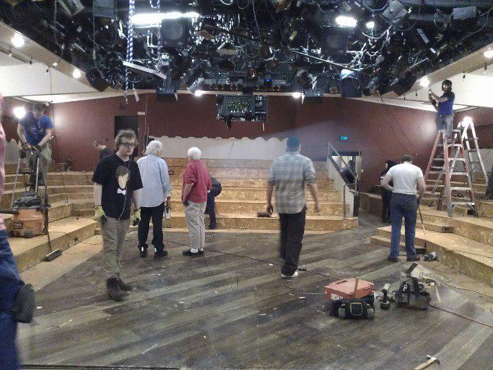 Audra McDonald and Will Swenson Line Utah Theater with Rows of New Seats